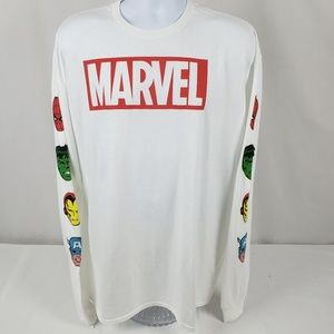 NWT Marvel Characters XL Long Sleeve Tee Shirt